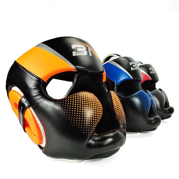 Casque protection boxe