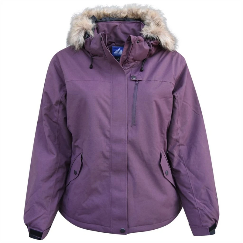 Waterproof plus size cold weather jacket