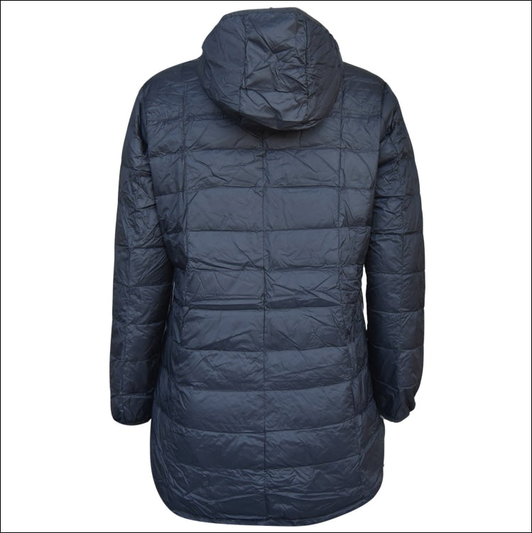 Snow Country Outerwear Plus Size Extended Long Packable Down Jacket Hooded Coat Parka 1X-6X