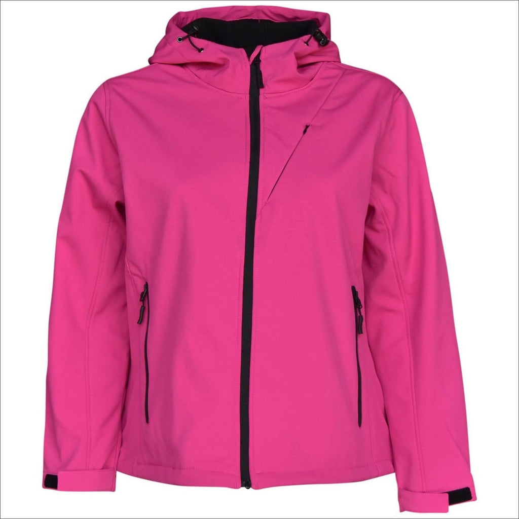 Pulse Women's Plus Size Soft Shell Jacket 1X-6