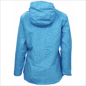 Snow Country Outerwear 1X-6X Women's Plus Size Printed Wind Breaker Rain Jacket