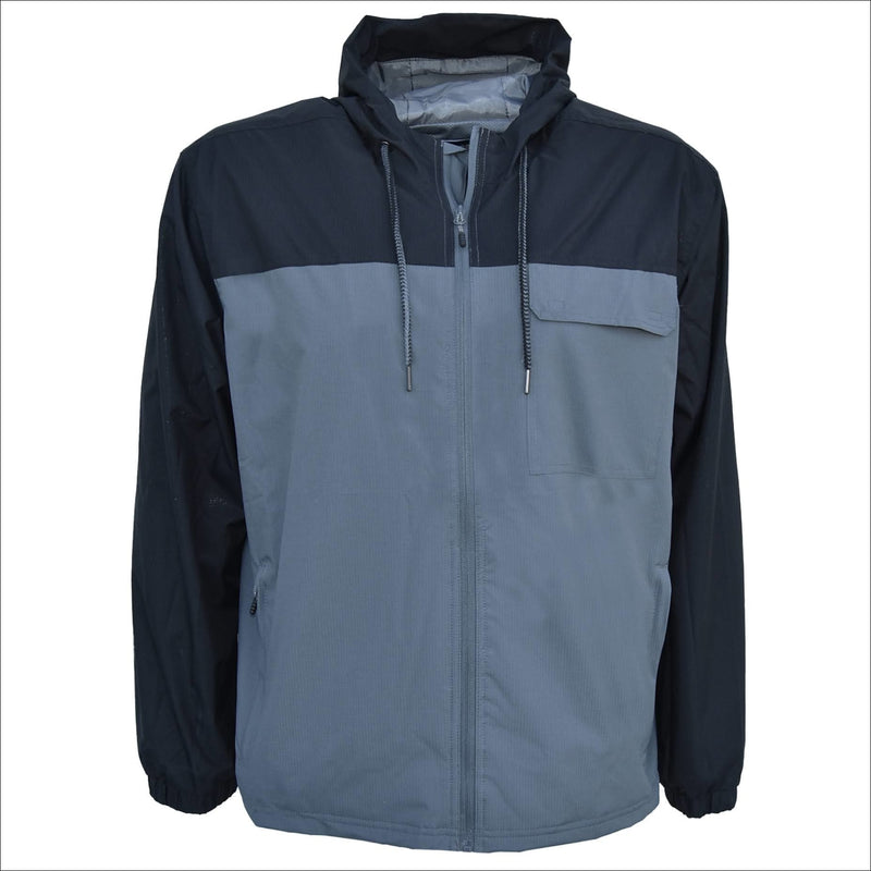 Snow Country Outerwear 3X-7X Men's Big Sizes Windbreaker Packable Rain Jacket