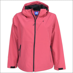 Snow Country Outerwear Womens Plus Size Micro Fleece Soft Shell Jacket 1X 2X 3X 4X 5X 6X