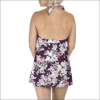 Carole Hochman Womens Keyhole Swimdress Swimsuit 8-14 - Womens