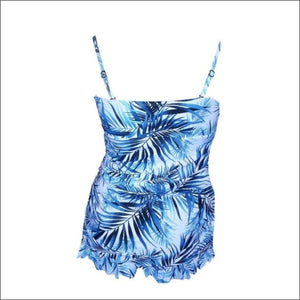 Christina Womens Fauxkini Swimdress Swimsuit 8-14 - Womens
