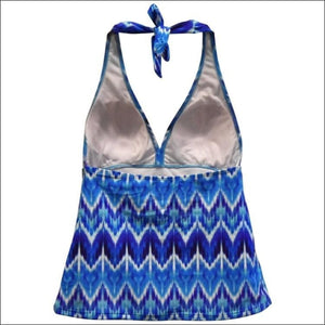 Heat Womens Halter Tankini Swimsuit Top S M L XL - Womens