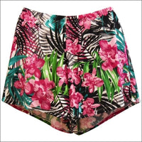 Heat Womens Plus Size Swim Shorts Shortini Separates 18W 20W 22W 24W - 18W / Tropical - Womens