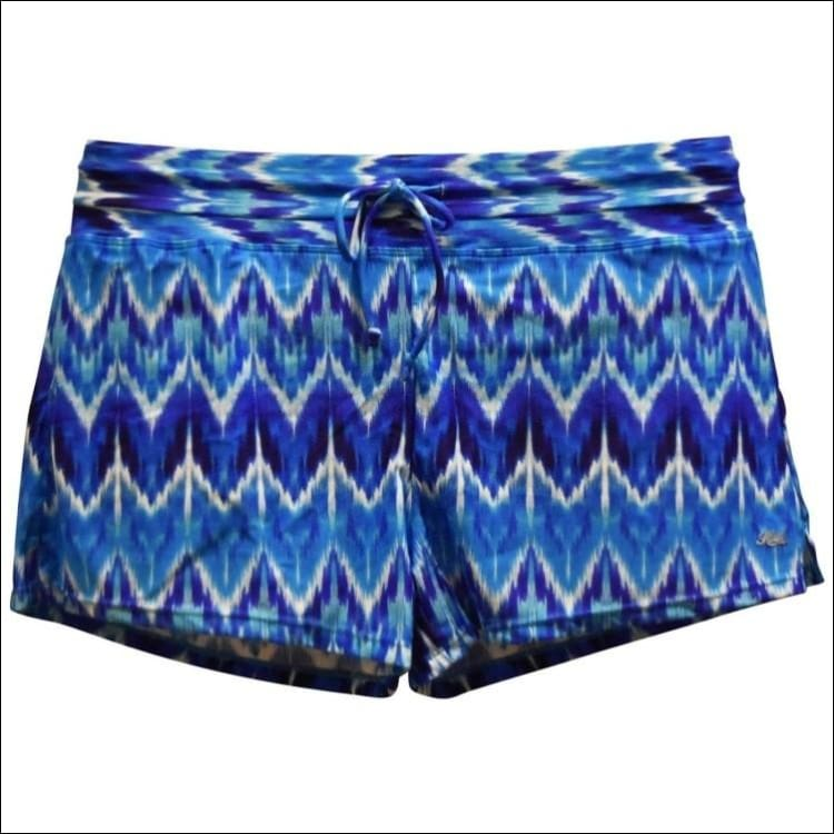 Heat Womens Swimsuit Separates Swim Shorts S M L XL - Small / Rhythm and Blues - Womens