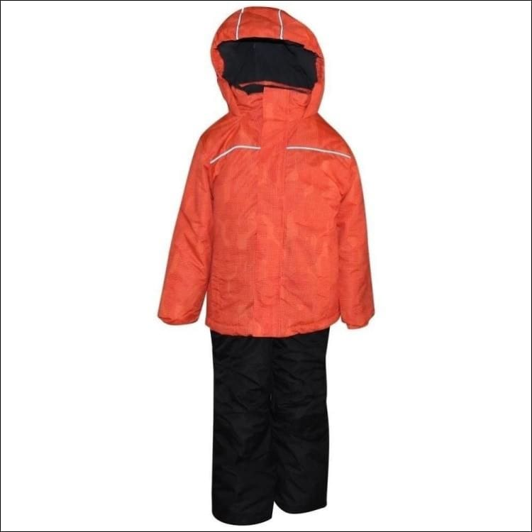 Little Boys Pulse 2 Piece Snowsuit Ski Jacket and Snow pants Barrel 2T-4T 4/5-7 - Kids