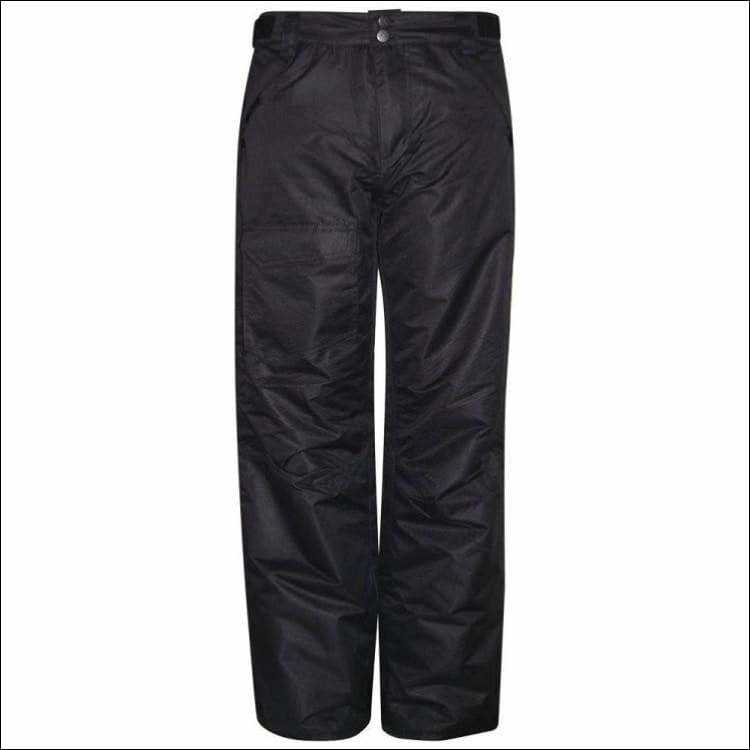 Pulse Big Boys Youth Insulated Ski Snow Pants Black 8-18 - S (8/10) / Black - Kids