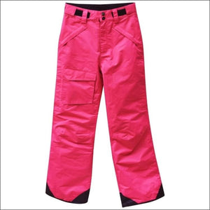 Pulse Girls Big Youth Insulated Ski Pants Snow Pants 7-16 - L (14/16) / Juicy Melon - Kids