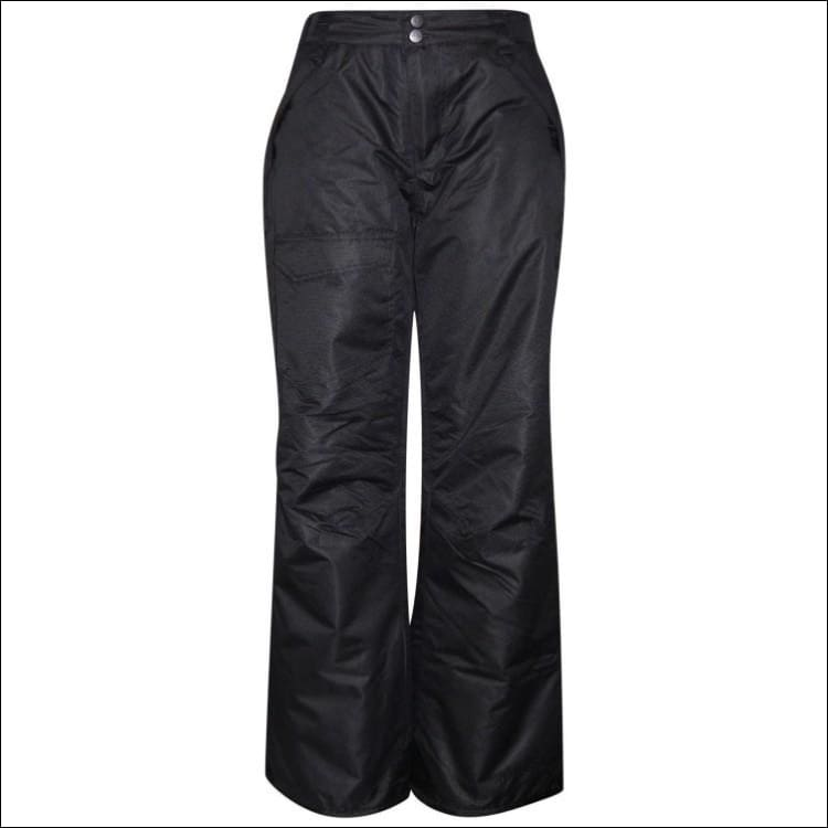 Pulse Girls Big Youth Insulated Ski Pants Snow Pants 7-16 - S (7/8) / Black - Kids