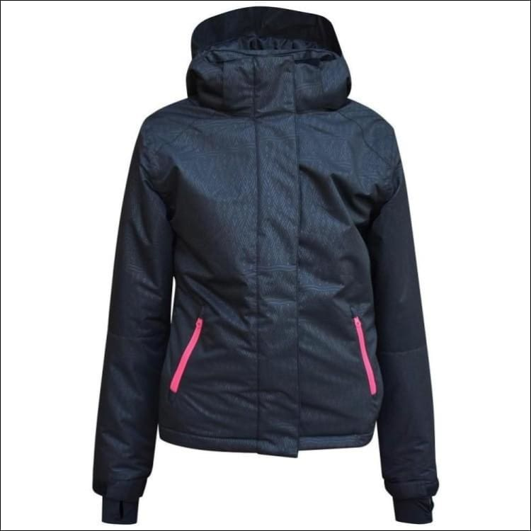 Pulse Girls Youth Ski Snowboard Coat Jacket Insulated Black S-M - Small (7/8) / Black - Kids