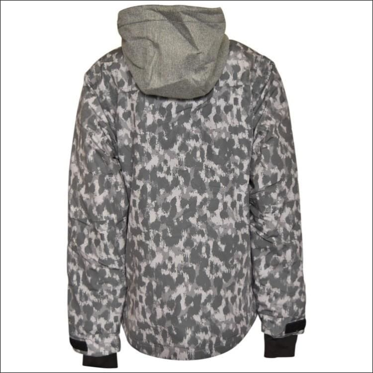 Pulse Girls Youth Teen Insulated Snowboarding Jacket Rhythm Leopard XL - Kids