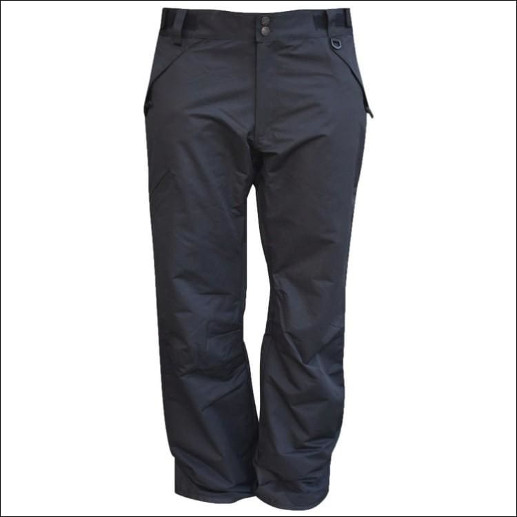 Pulse Mens Big & Tall Insulated Ski Snow Pants 2XL-7XL Reg & Tall - 2XL / Black - Mens
