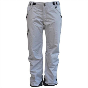 Pulse Mens Big & Tall Insulated Ski Snow Pants 2XL-7XL Reg & Tall - 2XL / Grey - Mens