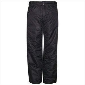 Pulse Mens Insulated Ski Snow Pants S M L XL - Medium / Black - Mens