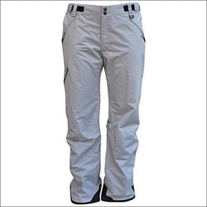 Pulse Mens Technical Insulated Ski Snow Pants Reg Tall S-XL Tall - X-Large / Grey - Mens