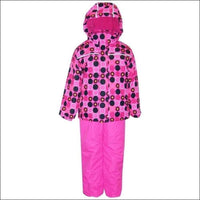 Pulse Toddler and Little Girls 2 Piece Snowsuit Ski Jacket and Bibs 2T-7 - 2T / Pink Lady Bug - Kids