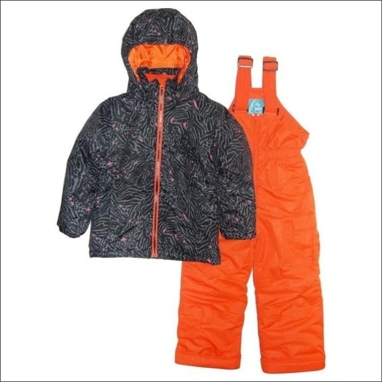 Pulse Toddler and Little Girls Fierce 2 Piece Snowsuit 2T-7 - Kids