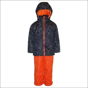 Pulse Toddler and Little Girls Fierce 2 Piece Snowsuit 2T-7 - Medium (6/6X) / Black Fierce - Kids