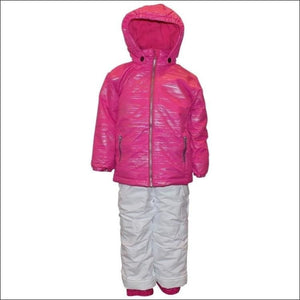 Pulse Toddler and Little Girls Snowsuit Ski Jacket Snow Bibs Glitter Toddler 2T-7 - Kids