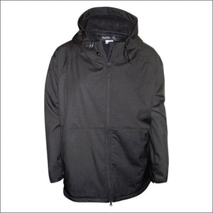 Pulse Womens Plus Size Hooded Soft Shell Jacket 1X 2X 3X - 1X / Black Embossed - Womens