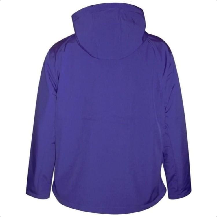Pulse Womens Plus Size Hooded Soft Shell Jacket 1X 2X 3X - Womens