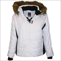 Pulse Womens Plus Size Insulated Ski Jacket 1X 2X 3X 4X 5X 6X Aspens Calling - 2X / White Black - Womens
