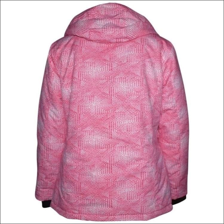Pulse Womens Plus Size Insulated Ski Jacket 1X Honeycomb - Womens