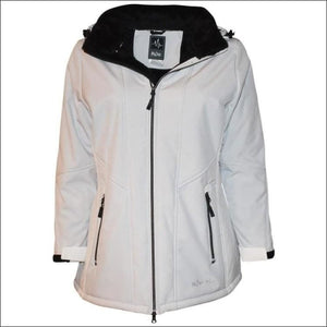 Pulse Womens Plus Size Insulated Soft Shell Jacket Lilya 1X - 1X (16/18) / Ivory - Womens