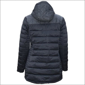 Pulse Womens Plus Size Puffy Insulated 3/4 parka Broadway 1X 2X 3X 4X 5X (14-24W) - Plus Size