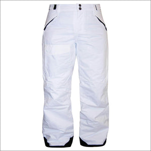 Pulse Womens Plus Size Ski Insulated Snow Pants 1X - 1X / White - Womens