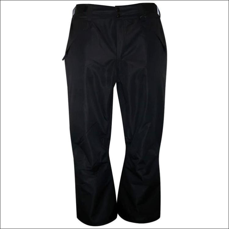 Pulse Womens Plus Size Technical Snow Pants - 3X / Black - Womens