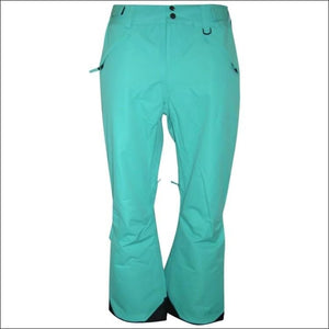 Pulse Womens Plus Size Technical Snow Pants - 5X / Green - Womens