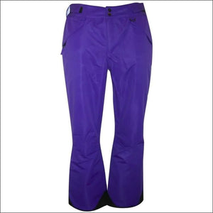 Pulse Womens Plus Size Technical Snow Pants - 5X / Purple - Womens