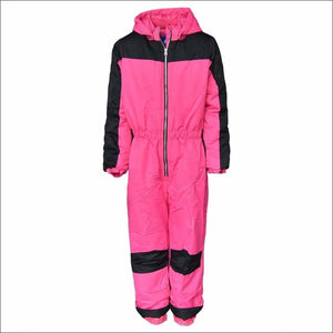 Snow Country Outerwear Big Girls Youth 1 Pc Snowsuit Coveralls S-L - Small (7/8) / Pink - Kids