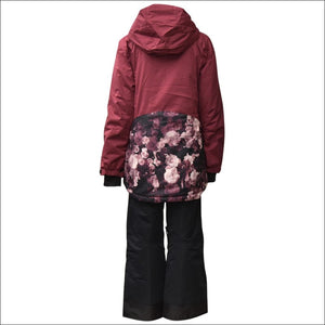 Snow Country Outerwear Girls Big Youth 2 Pc Snow Suit Ski Jacket and Pants Set Peony S-L - Kids