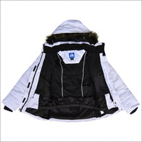 Snow Country Outerwear Girls Big Youth Insulated Ski Jacket Coat Aspens Calling S-L - Kids