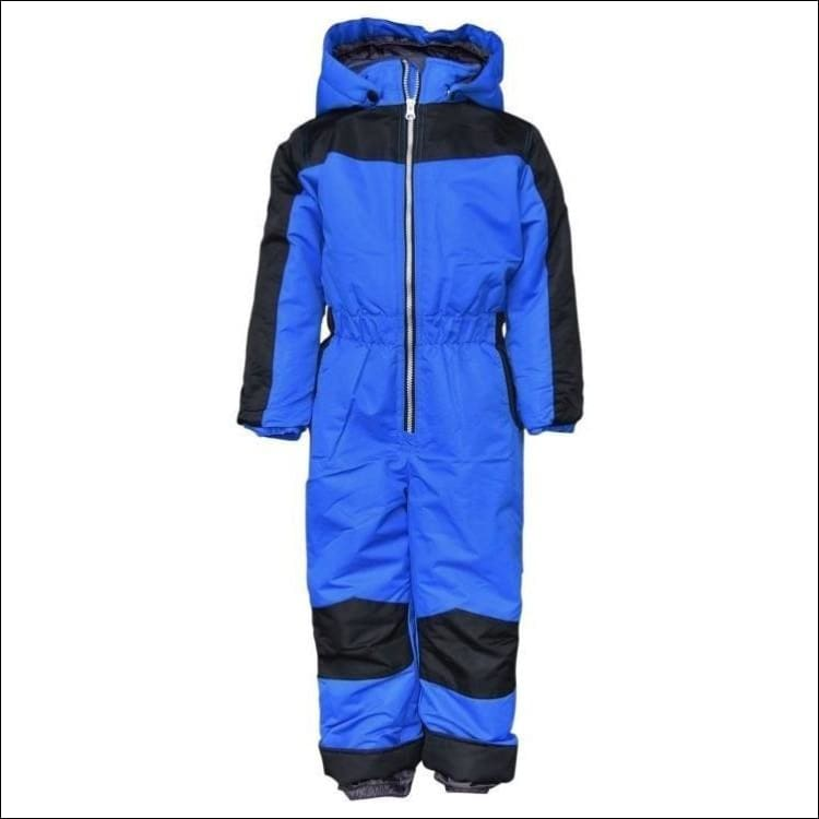 Snow Country Outerwear Little Boys 1 Pc Snowsuit Coveralls S-L - Small (4/5) / Royal Blue - Kids
