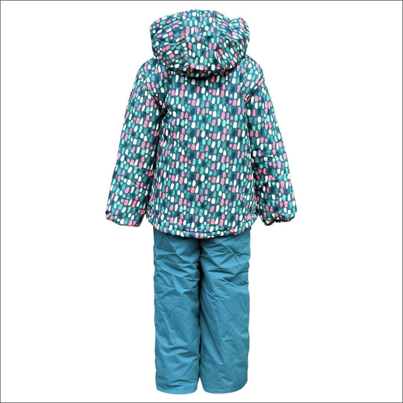 Snow Country Outerwear Little Girls Snowsuit Ski Jacket and Snow Pants Set S-L - Kids