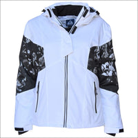 Snow Country Outerwear Womens Plus Size Moonlight Insulated Ski Coat Jacket 1X-6X - 1X (16/18) / White - Plus Size