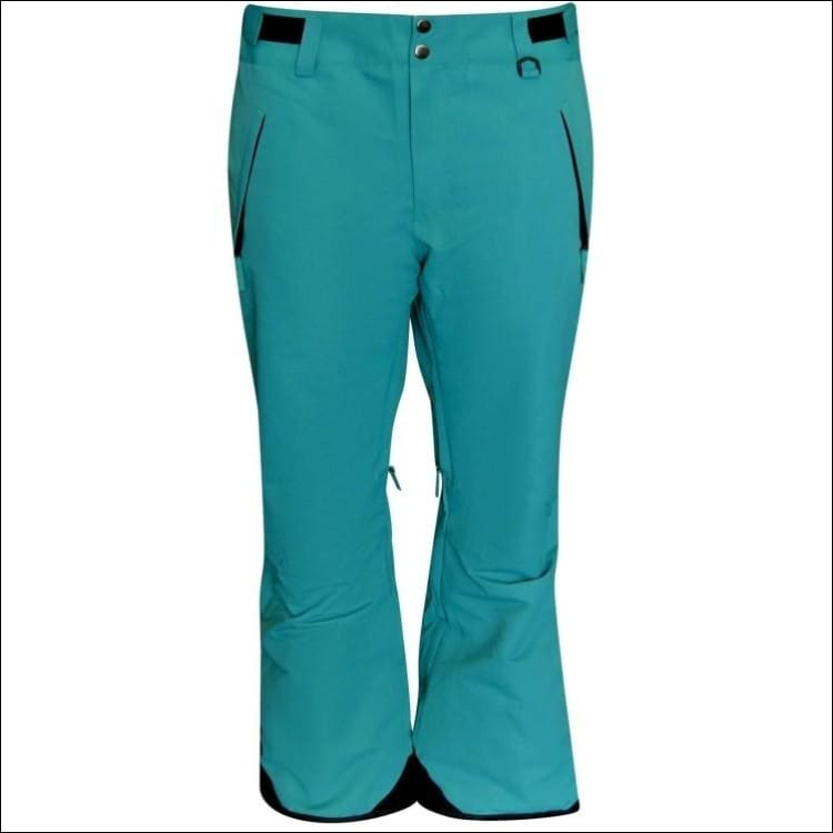 Snow Country Outerwear Womens Ski Pants Insulated S-XL Reg and Short - Small / Teal - Ski Wear