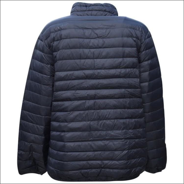 Sportcaster Mens Packable Down Jacket Big Sizes 2XL-7XL - Mens