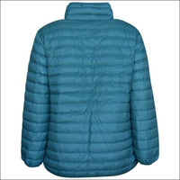 Sportcaster Womens Plus Size Packable Down Jacket 1X-6X - Plus Size