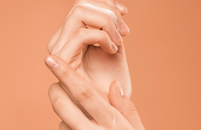 Give Yourself a Hand with Mineral Air Four-in-One Foundation