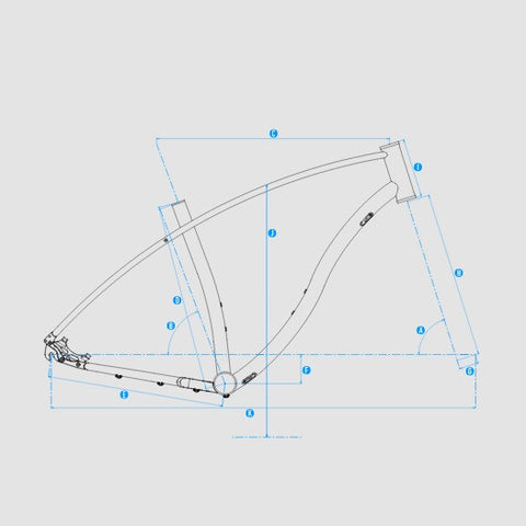 Budnitz Model E frame size geometry