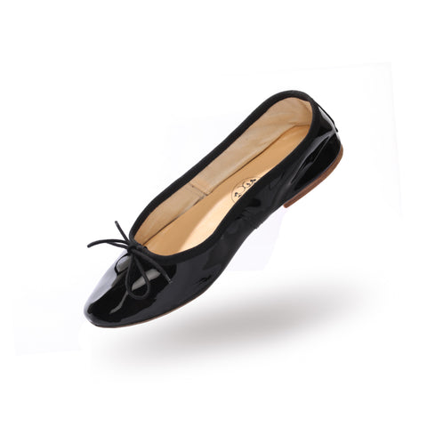LAST PAIR! Porselli ballet flats (Last size 40 in Black Patent)