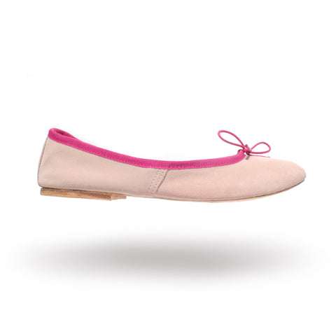 Porselli ballet flats (Light Pink/Fuchsia)
