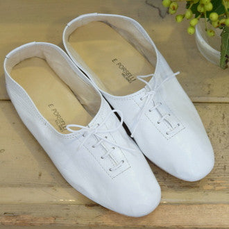 Porselli jazz lace-up shoes White (sample in 1 size - New)